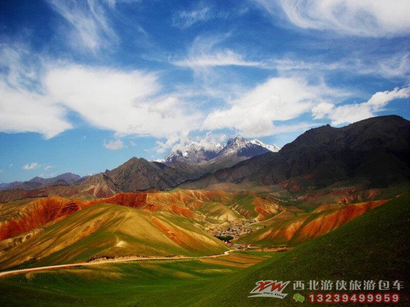 青海湖二日游,卓尔山旅游